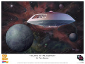 Lost In Space - Island in the Cosmos - Print