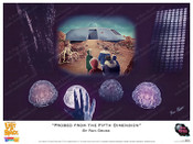 "Lost In Space - ""Probed from the Fifth Dimension"" - Print"