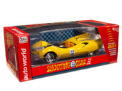 SPEED RACER - Shooting Star with Racer X Figure  1:18 SCALE DIECAST