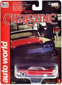 AUTO WORLD CHRISTINE 1958 PLYMOUTH FURY (PARTIALLY RESTORED) 1:64 DIECAST