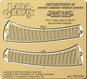 Star Trek - Enterprise - D Power Conduit Trench Covers - 1/1400 Scale - PGX239