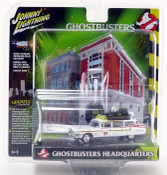 Ghostbusters - 1959 Cadillac  ECTO-1A with Firehouse Diorama