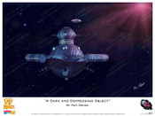"""Lost In Space - """" A Dark and Depressing Object """" - Print"""