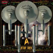 STAR TREK TOS U.S.S. ENTERPRISE W/PILOT EDITION PARTS 1:350 SCALE MODEL KIT