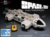 SPACE: 1999 EAGLE TRANSPORTER - KITBRIX CONSTRUCTION SET