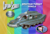 Captain Scarlet - Spectrum Pursuit Vehicle - Die Cast Product Enterprise