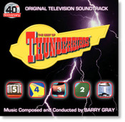 Thunderbirds 40th Anniversary Soundtrack - The Best of CD