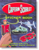 Captain Scarlet Sticker Book