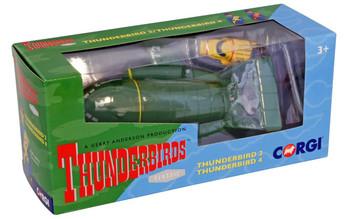Corgi Thunderbirds 2 and 4 diecast model (CC00802)