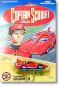 Captain Scarlet - Mini Diecast Spectrum Saloon Car