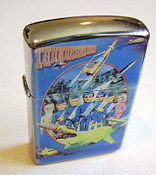 Thunderbirds Refillable Metal Lighter