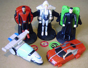 New Captain Scarlet Toys from KFC