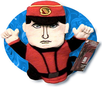 New Captain Scarlet Hand Towel