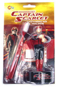 New Captain Scarlet Toothbush and Holder
