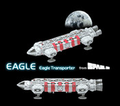 Space 1999 - Konami Rescue Eagle Trading Model