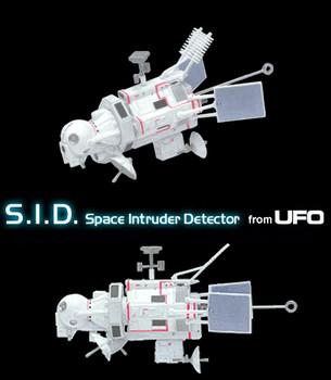 UFO - Konami Trading Model - S.I.D.