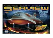 Giant 39 inch Seaview Model Kit by Moebius Models 1/128 - 4 Window