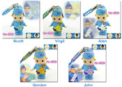 Thunderbirds - Kewsion Thunderbirds Phone Straps set