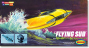 Voyage to the Bottom of the Sea - Mini Flying Sub Model Kit