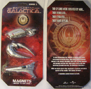 Battlestar Galactica -Fridge Magnet Set 2