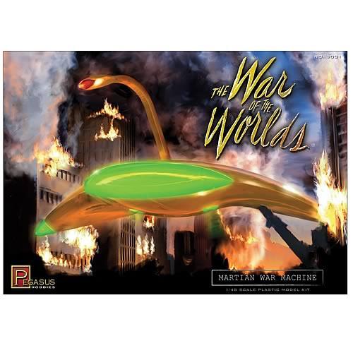 War of the Worlds 1953 PreBuilt Martian Figure