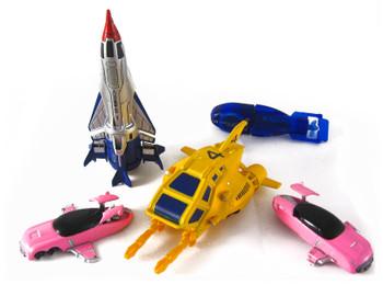 Micro World Thunderbirds Movie Vehicles