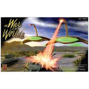 War of the Worlds 1953 War Machines Attack Diorama Model Kit