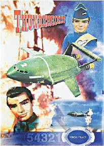 Thunderbirds - Virgil Tracy & TB2 Poster