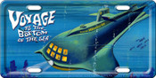 Voyage to the Bottom of the Sea License Plate