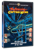 THE AMAZING CAPTAIN NEMO  (DVD)