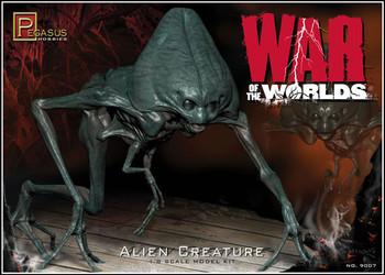 War of the Worlds 2005 Alien Figure model kit