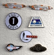 Gerry Anderson related Lapel Pins