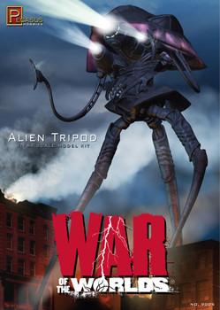"""War of the Worlds 2005 """"Alien Tripod"""" model kit 1/144 scale"""