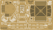 Seaview Photoetched Enhancements For Moebius 1/350 scale Kit (PGX118)