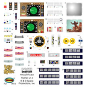 Lost in Space - Jupiter 2 Decal Set for Stock Interior (PGX122)