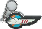 Thunderbirds IR Keychain