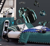 Tron - Legacy Light Cycle Glow in Dark Sticker Decal Set