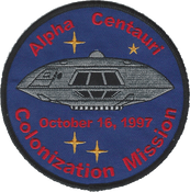 Lost In Space - Jupiter 2 Colonization Mission Patch