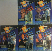 Space Precinct Action Figures - Set of 5