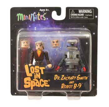 Lost in Space Dr. Smith & B9 Minimates 2-Pack (DC10145)