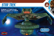 Star Trek - Klingon K't'inga 1:350 Scale Model Kit (POL902) !! THIS KIT IS 2 FEET LONG !!
