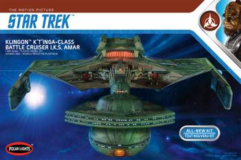 Star Trek - Klingon K't'inga 1:350 Scale Model Kit (POL902) !! THIS KIT IS 2 FEET LONG !!