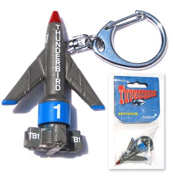Thunderbirds TB1 PVC Keychain