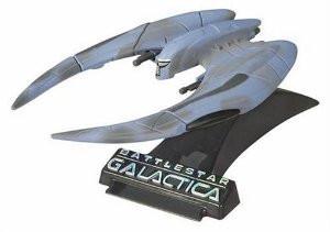 Titanium Series Battlestar Galactica 3 Inch Cylon Raider Scar