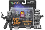 Lost in Space Black & White Minimate 2-Pack