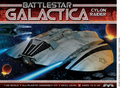 Original 1978 BSG Cylon Raider Model Kit