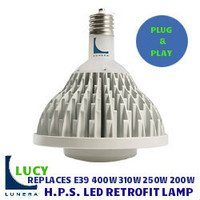 LED HIGH PRESSURE SODIUM RETROFIT LUNERA LY-V-E39-MULTIW-4000-G2