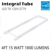 """LED T8 U-BENT 6"""" 120V-277V ETI 54293141 4000K"""