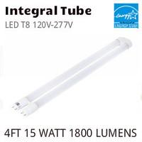 """LED T8 U-BENT 1.625"""" 120V-277V ETI 54292141 4000K"""