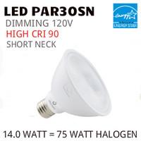 PAR30 LED LIGHT BULB GREEN CREATIVE 14PAR30SNG4DIM/930SP15